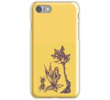 Growth of a seed iPhone Case/Skin