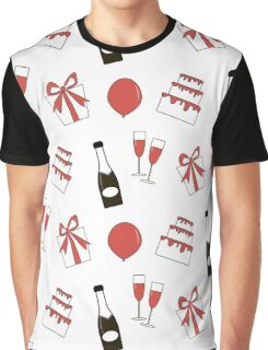 Party print Graphic T-Shirt