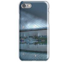 Anzac Bridge by Moonlight. iPhone Case/Skin