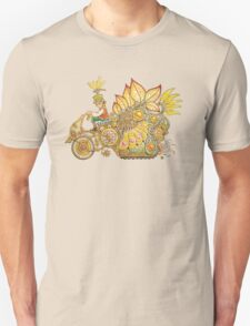 Steampunk Fairy Ride Unisex T-Shirt
