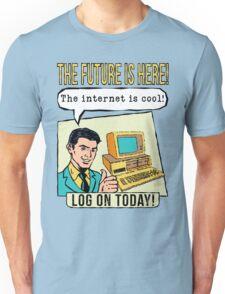 Retro Internet Comic Book Ad T Shirt Unisex T-Shirt