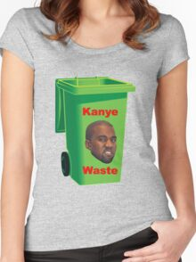 Kanye Waste Women's Fitted Scoop T-Shirt