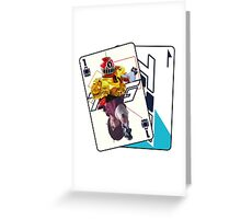 HYPER TOQ1  Greeting Card