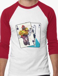 HYPER TOQ1  Men's Baseball ¾ T-Shirt