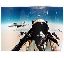 Selfie Over Afghanistan Poster