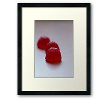 Day 26 - red Framed Print