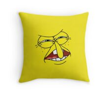 who put YOU on the planet Throw Pillow