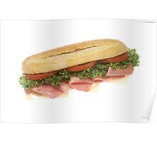 Deli Sandwich Poster