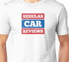 Regular Car Reviews Logo White Unisex T-Shirt