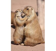 Hugs and Kisses Photographic Print