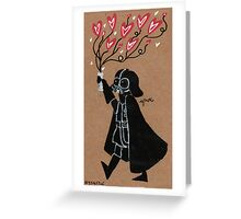 Darth Vader - Love Greeting Card