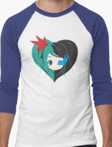 Two Love in one Men's Baseball ¾ T-Shirt