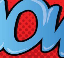 WOW! Sticker