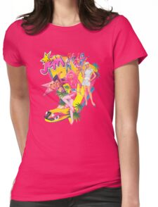 Jem and the Holograms Retro Womens Fitted T-Shirt