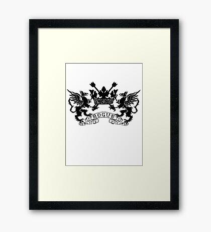 ROGUE DRAGONS Framed Print