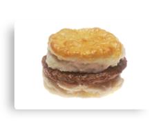 Sausage Biscuit Canvas Print