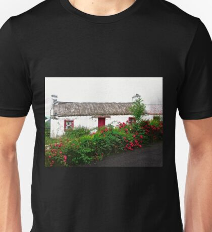 Abandoned Cottage, Inishowen Peninsular, Donegal, Ireland Unisex T-Shirt