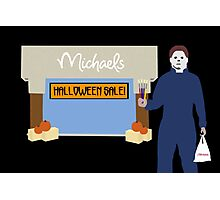 Michaels Myers Photographic Print