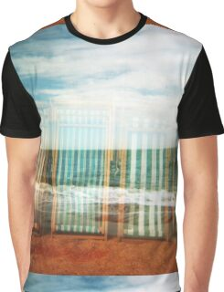 Summer Seaside Dreams Graphic T-Shirt