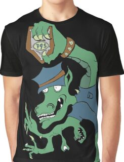 Dragon Cop Graphic T-Shirt