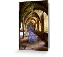 Blue Spectre Greeting Card