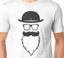 white beard Unisex T-Shirt