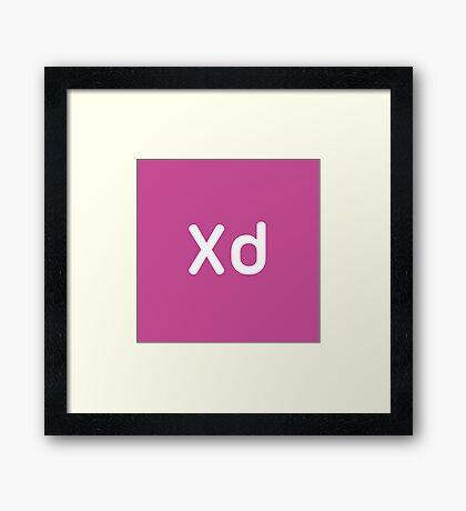 Adobe Experience CC Square Framed Print