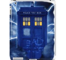 Blue Police Public Call Box  iPad Case/Skin