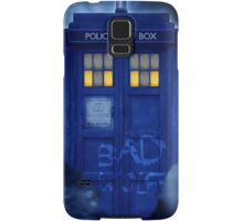 Blue Police Public Call Box  Samsung Galaxy Case/Skin