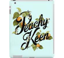 Peachy Keen : Mint iPad Case/Skin