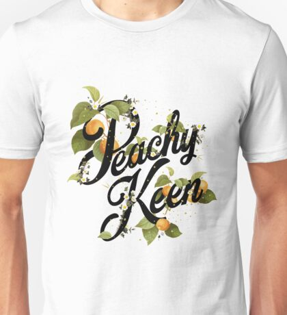 Peachy Keen : Mint Unisex T-Shirt