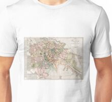 Vintage Map of Berlin (1811)  Unisex T-Shirt