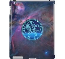 Wibbly Wobbly, Timey Wimey (in Gallifreyan) iPad Case/Skin