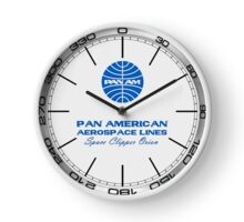 2001 A Space Odyssey Pan Am Space Clipper Orion clock Clock