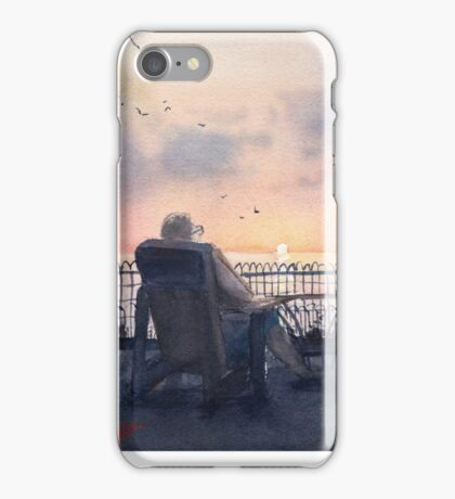 Sunset at the Cottage iPhone Case/Skin