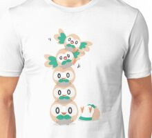 Leaning Birb Tower  Unisex T-Shirt