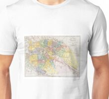 Vintage Map of Berlin (1846) Unisex T-Shirt