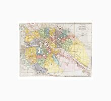 Vintage Map of Berlin (1846) Unisex T-Shirt