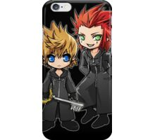 Roxas and Axel - Kingdom Hearts iPhone Case/Skin
