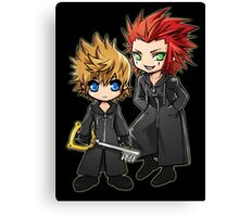 Roxas and Axel - Kingdom Hearts Canvas Print
