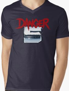 DANGER 5 SERIES 2 EMBLEM Mens V-Neck T-Shirt