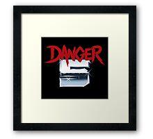 DANGER 5 SERIES 2 EMBLEM Framed Print