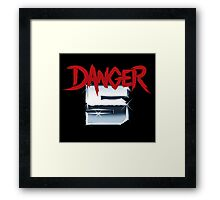 DANGER 5 SERIES 2 EMBLEM Framed Print