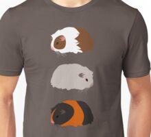Guinea Pig Trio Unisex T-Shirt