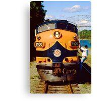 Cape Cod Railroad Canvas Print