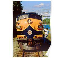 Cape Cod Railroad Poster