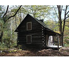 Kentucky Log Cabin Photographic Print