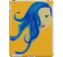 Girl with the Blue Hair iPad Case/Skin