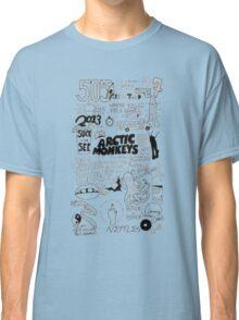 Arctic Monkeys word art Classic T-Shirt