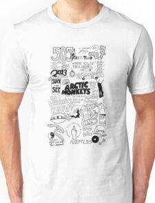 Arctic Monkeys word art Unisex T-Shirt
